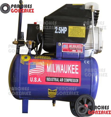 Compresor 2 5hp t40lts mono hori milwaukee compresores - Accesorios para compresores de aire ...
